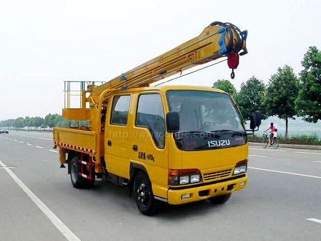 庆铃13.5米竞技宝车图片